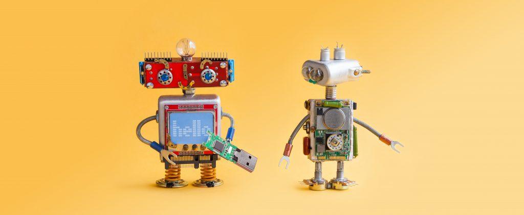 Roboter blir en del av fremtidens arbeidsliv.