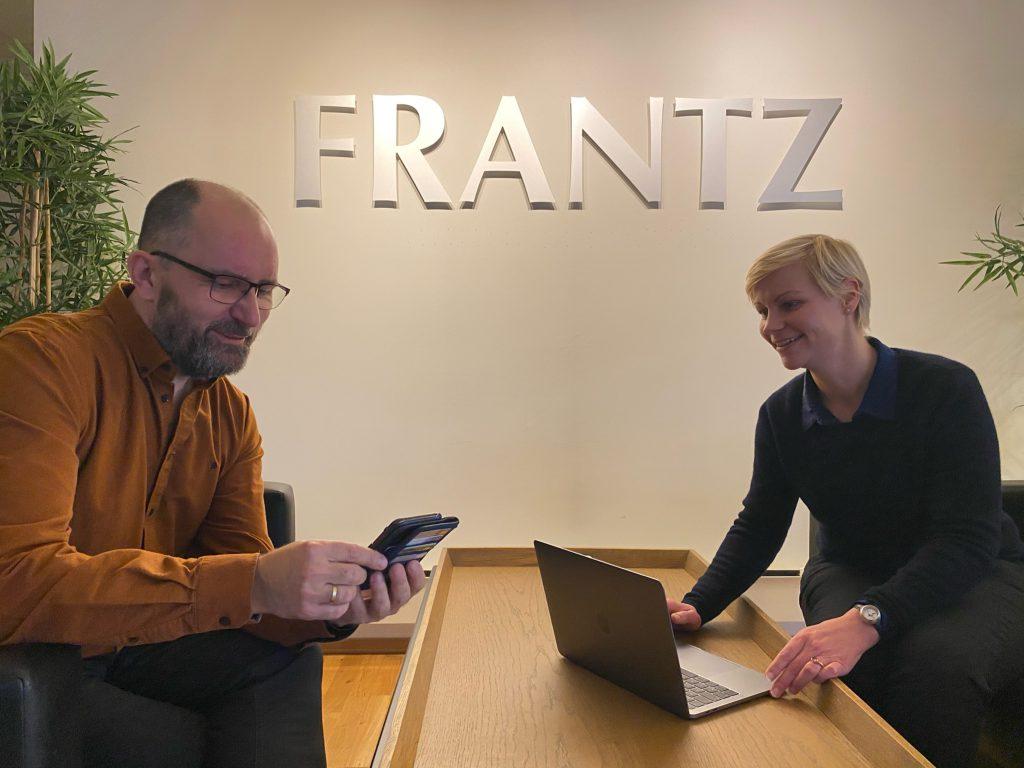 Tore og Ragnhild i Frantz